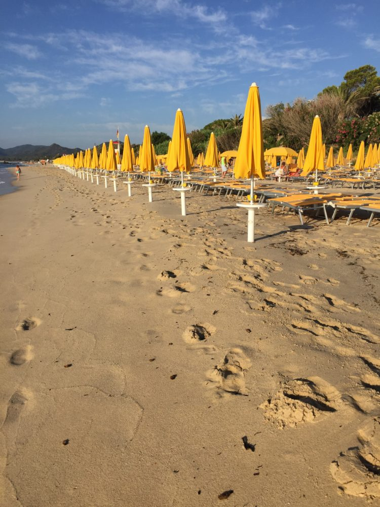 How to be Lazy in Sardinia Without Really Trying